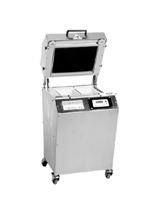 Operculeuse de barquettes semi-automatique Modèle OP 400